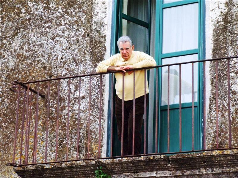 Il Professor Giovannino Drammis di Scandale. Foto Rosario Rizzuto