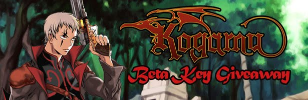 Kogamu facebook Closed Beta giveaway