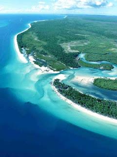 Fraser Island Fliegen