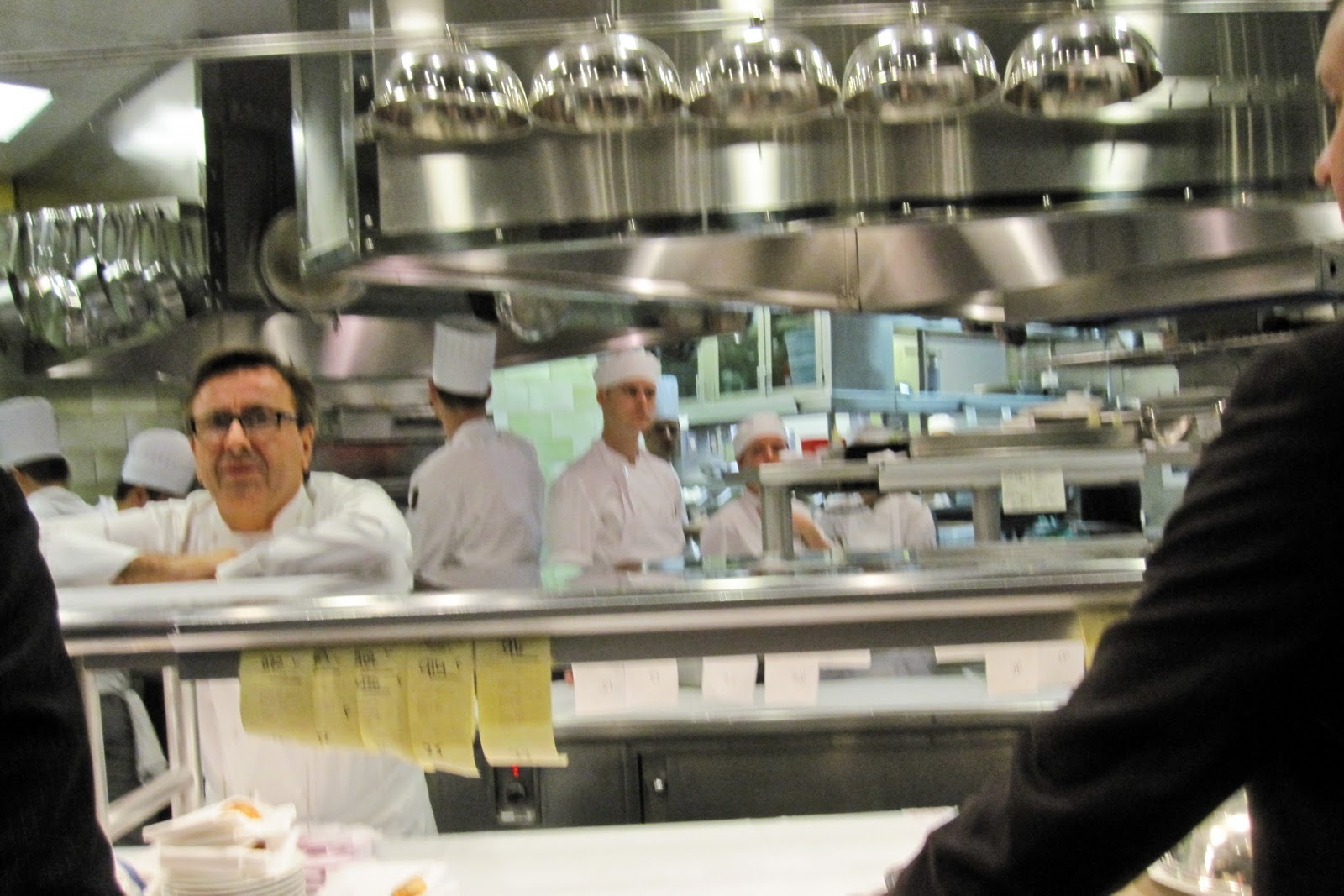 Attirant Daniel Invited Us For A Kitchen Tour. While Daniel Boulud Was Very Busy In  The