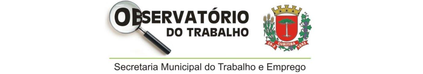 Observatório do Trabalho de Curitiba