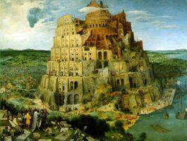 La Torre de Babel de Brueguel, un zigurat