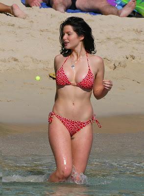 Helen Flanagan Bikini Candids