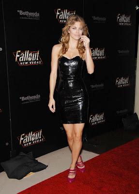 AnnaLynne McCord In A Little Black Dress