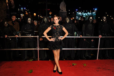 Emma Watson In A Lacy Dress