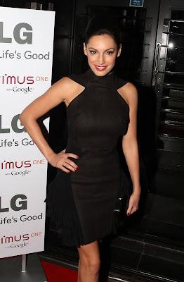 Kelly Brook In A Little Black Dress