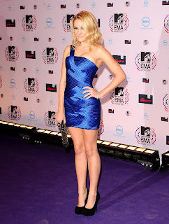Emily Osment at the MTV EMAs