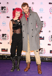 Hayley Williams at the MTV EMAs