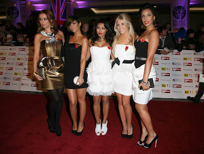 The Saturdays at the Pride of Britain Awards