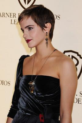 Emma Watson In A Little Black Dress