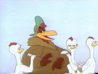 Rhode Island Red Looney Tunes
