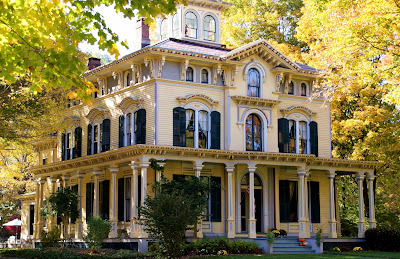 Historical home the philip chapin house in new hartford for Italianate homes for sale