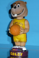 University of Minnesota Golden Gopher mascot bobblehead