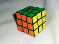 Completed Rubik's Cube