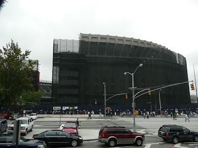 Old Yankee Stadium before demolition