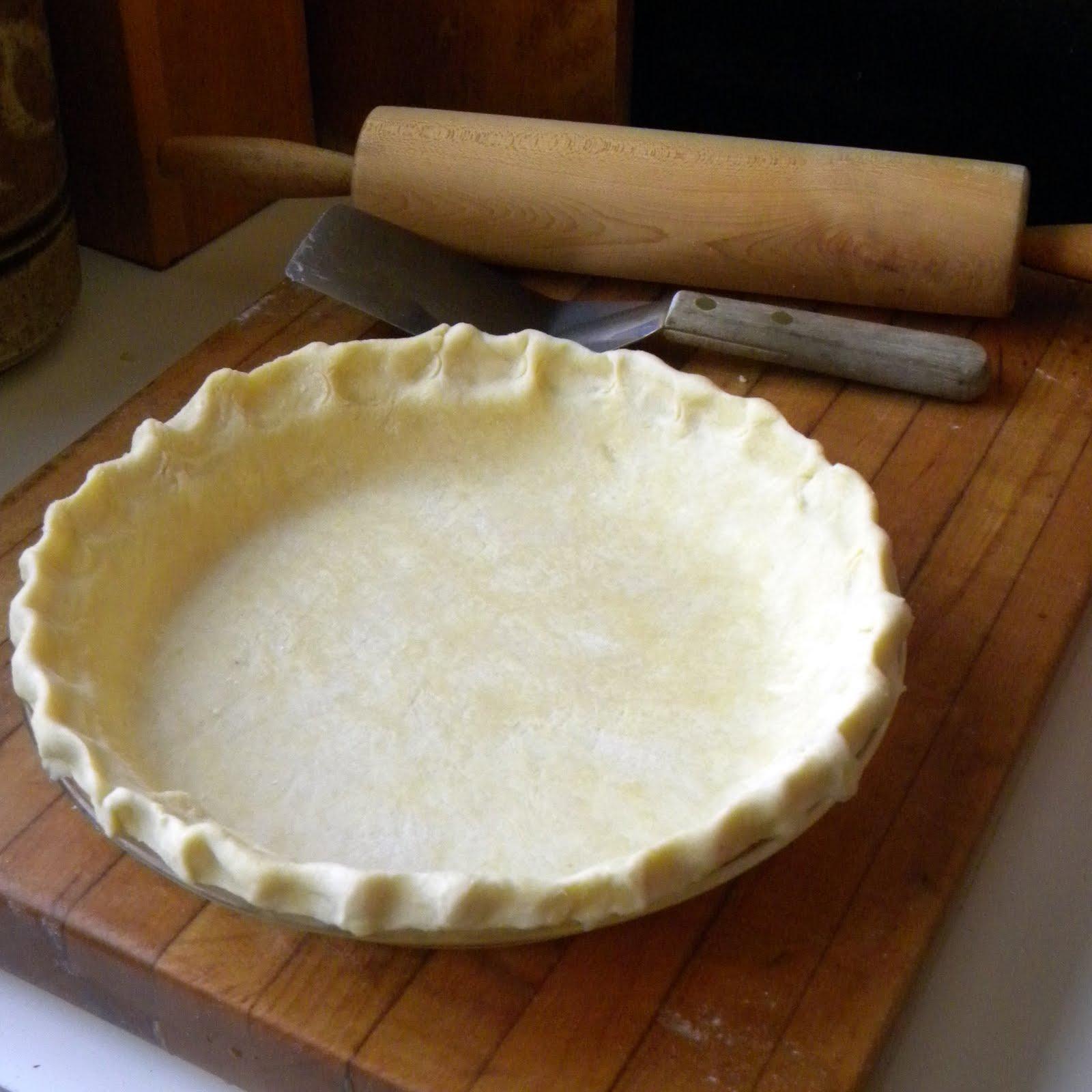Cook's Cache: Pie Crust (Pate Brisee)