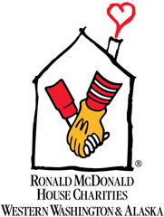 5 cents of every book goes to the Seattle Ronald McDonald House Charities