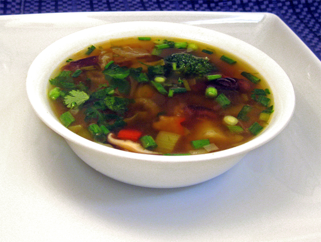 Cooking with corey recipe 233 chinese style vegetable soup ok just one more easy to type up recipe and then the next ones going to be the aforementioned rack of lamb recipe i promise not trying to string you forumfinder
