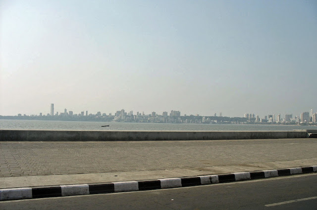 Mumbai skyline of Malabar Hill