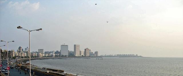 Mumbai skyline in daytime