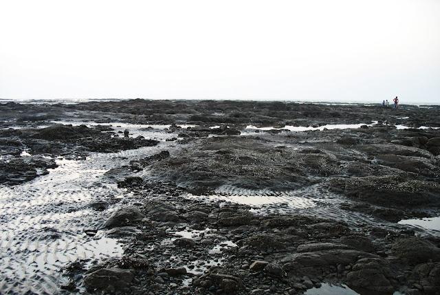 rocky beach Daman