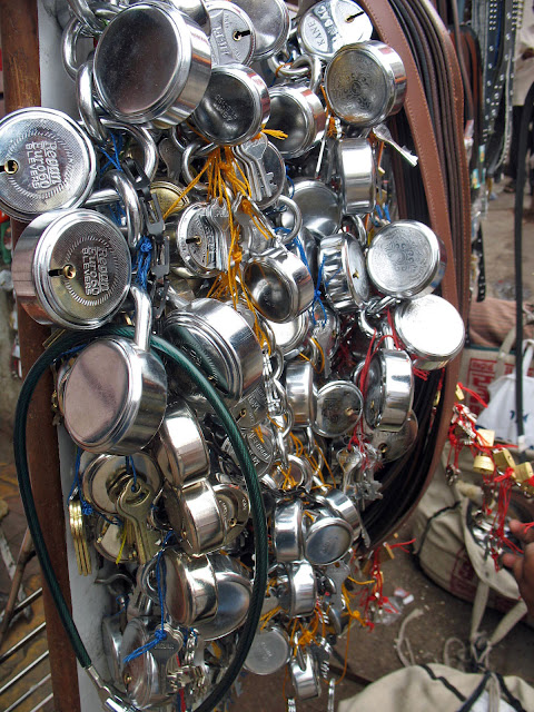 bunch of locks