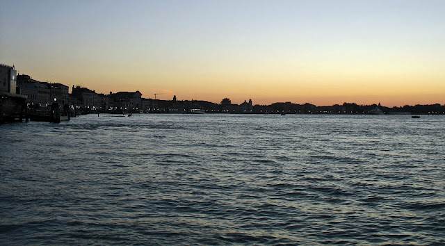 venice skyline sunset