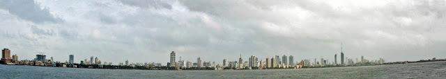 worli skyline panorama