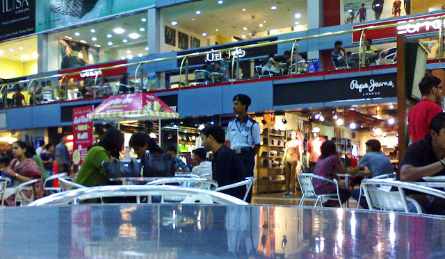 food court at SGS