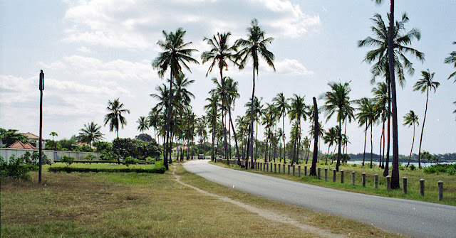 road to Oyster Bay in Dar, Tanzania
