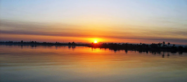 sunrise on Nile