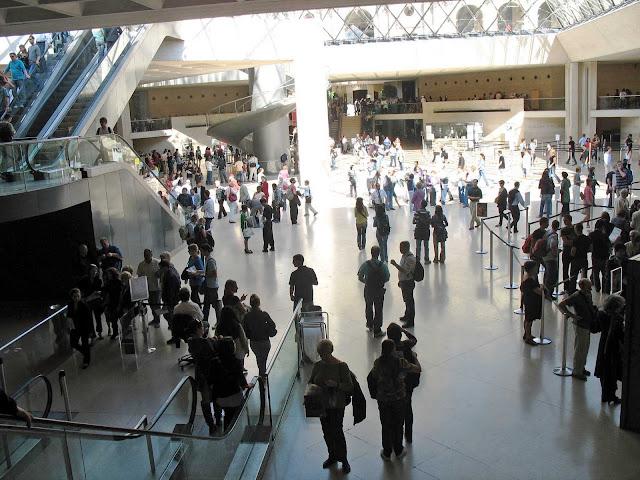 Louvre lobby
