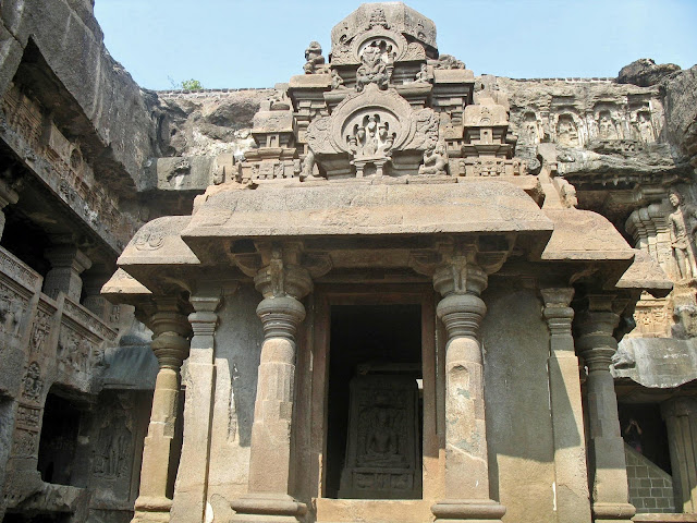 Buddhist temple at Ellora