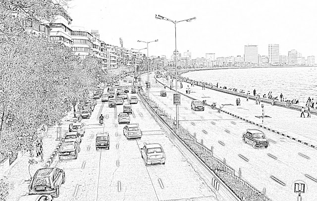 Marine Drive illustration
