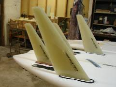Synergy G-10 Kiteboard Fins