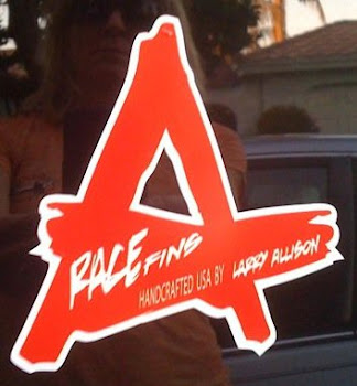 ALLISON RACE FIN VINYL STICKERS