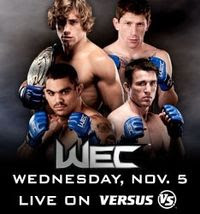 Watch WEC 36 Live Streaming Sopcast