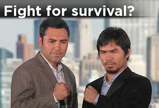 Pacquiao De La Hoya winner