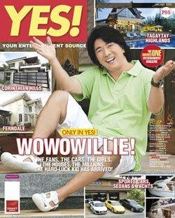 Willie Revillame Yes! Magazine