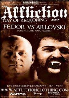 Fedor vs Arlovski Live