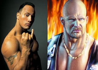 The Rock vs Stone Cold