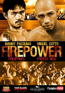 Pacquiao Cotto Poster