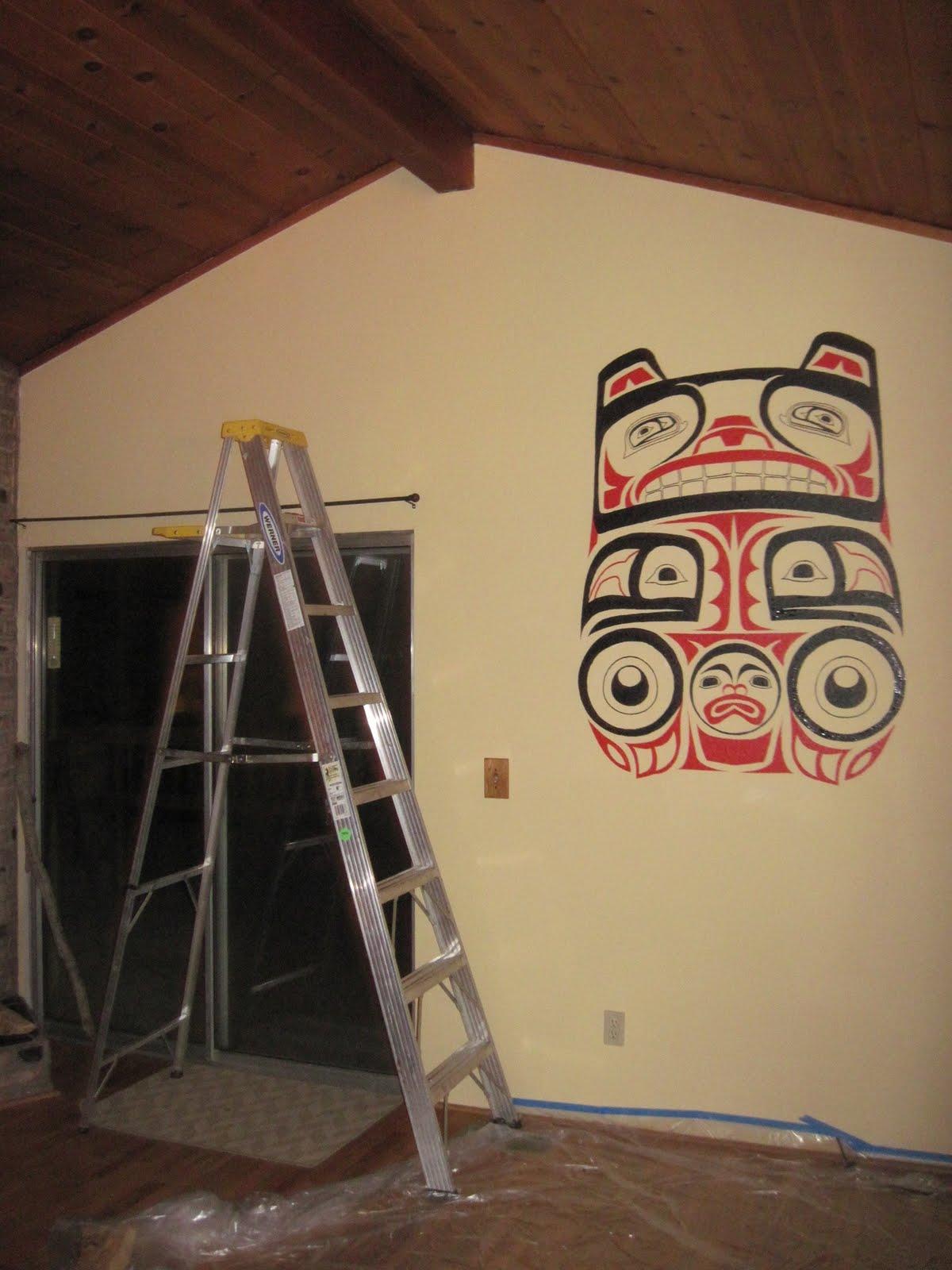 Brandon Starr\'s Art: New Mural