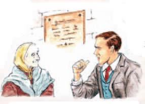 Enfurecido y alborotado, Adalberto se dirigió hacia la pobre mujer para pedirle explicaciones.