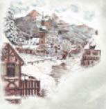 Aquella pintoresca aldea alemana parecía que estaba hecha de mazapán.
