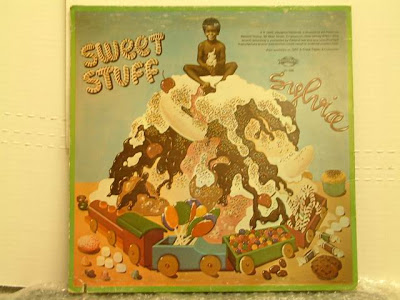 Sylvia-Sweet Stuff-1976 vibration V-126 cover, V-127 record