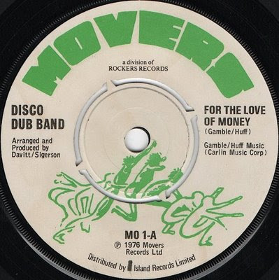 Disco dub band - for the love of money