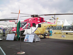 Helicopter at 2006 Farnborough Show