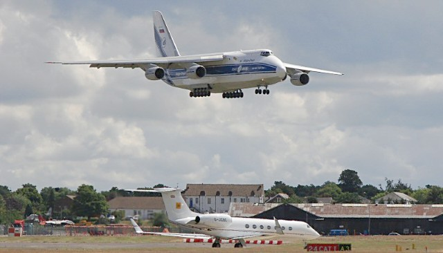 Antonov at farnborough
