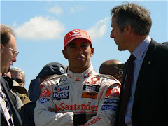 LEWIS HAMILTON at Farnborough